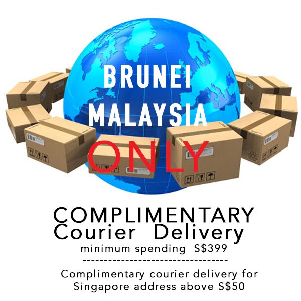 FREE COURIER TO BRUNEI AND MALAYSIA