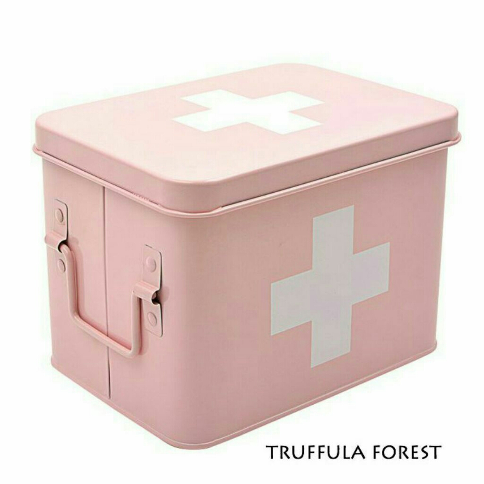 Pastel Pink First Aid Box