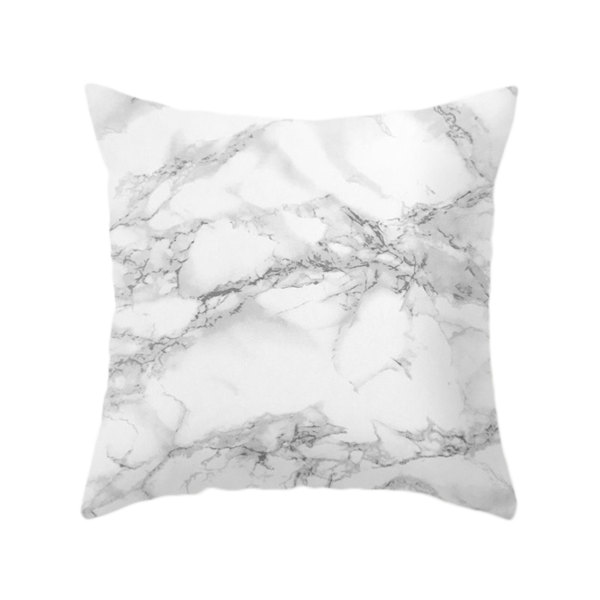 Marble Print Cushion Truffula Forest